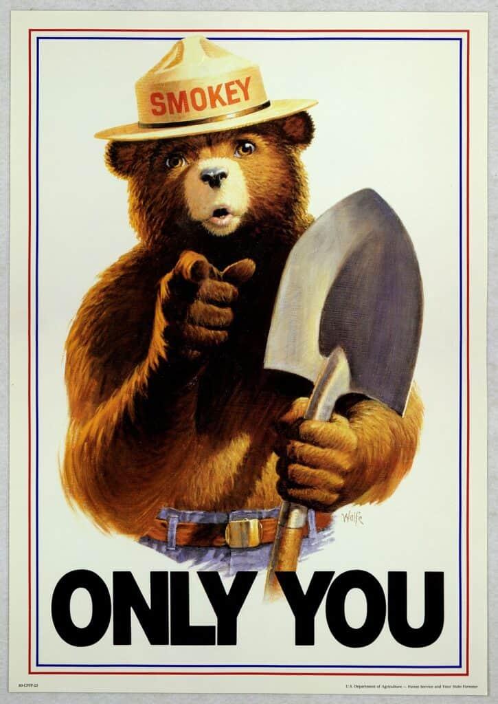 Smoky The Bear 1