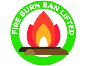 Fire Ban Lifted
